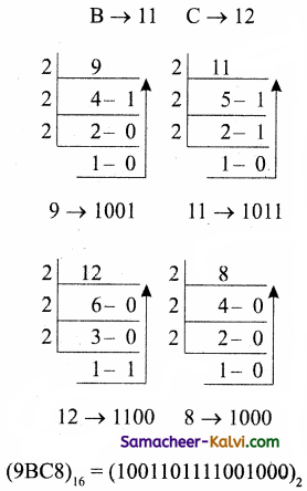TN State Board 11th Computer Science Important Questions Chapter 2 Number Systems Part 1 37
